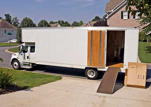 Moving truck offered at Sutro Self Storage in Dayton, NV