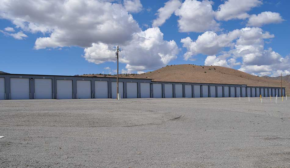 Large drive-up units at Comstock Boat and RV Storage