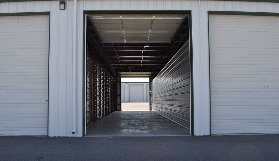 Large drive-through unit at Sierra Boat and RV Storage