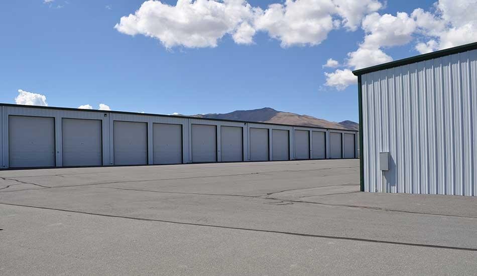 Sierra Boat and RV Storage has paved driveways