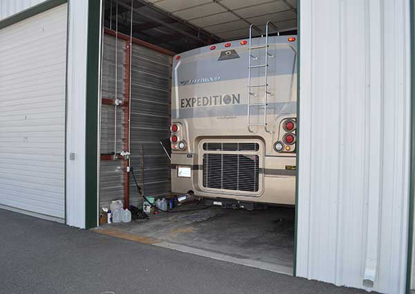 Storage features at Sierra Boat and RV Storage in Carson City