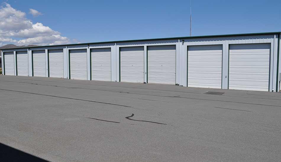 Sierra Boat and RV Storage has wide driveways