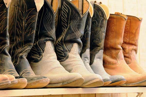 Cowboy Boots Are In Fashion In Texas