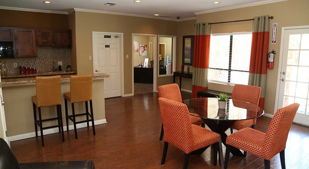 Meridian Apartment Homes has a fun clubhouse on-site!