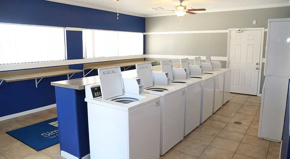 Meridian Apartment Homes offers on-site laundry facilities.