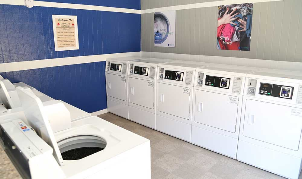 Sunset Apartments offers on-site laundry facilities.
