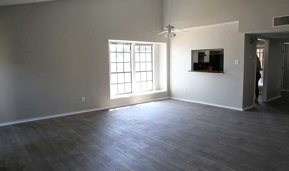 Woodview Apartments has hardwood flooring