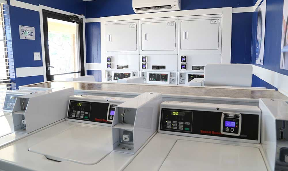 Woodview Apartments offers on-site laundry facilities.