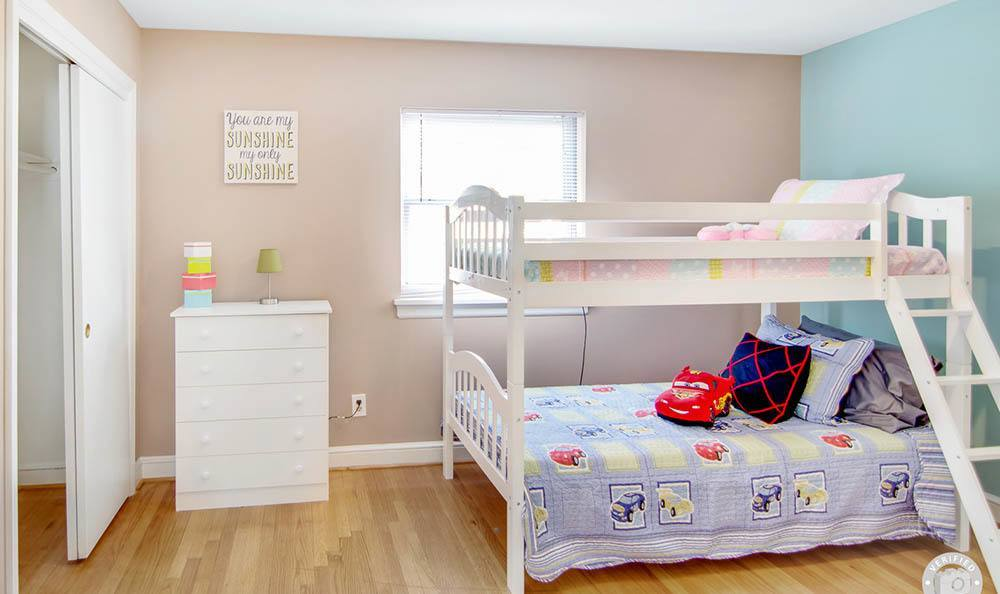 Bedroom for the kids at Heritage Pointe and Remuda Crossing