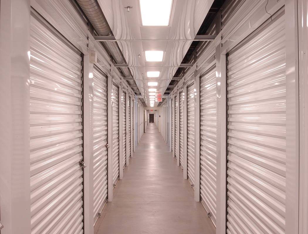 Interior storage units at Superior Self Storage in Rough and Ready, California