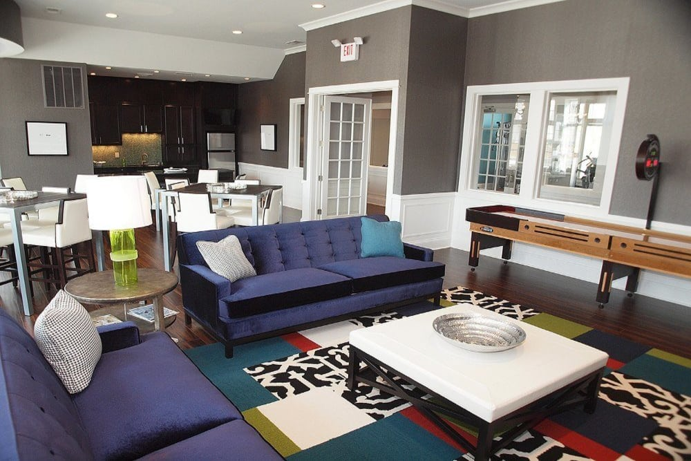 Clubhouse room at Meridian on Shelbyville
