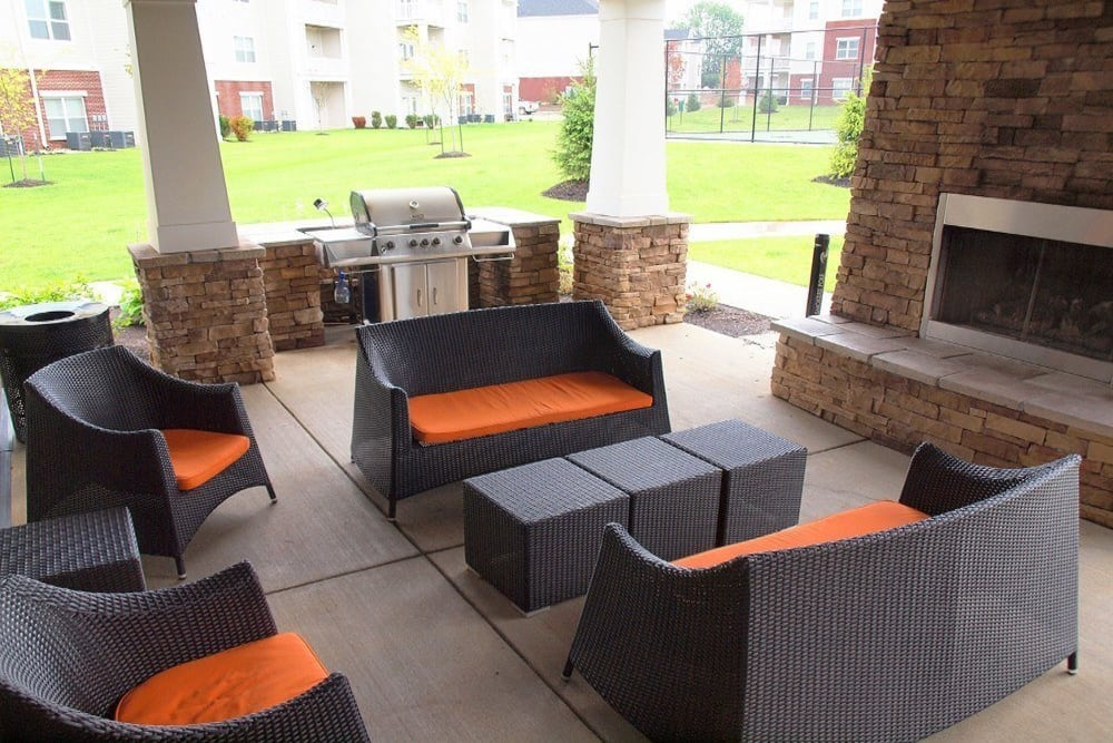 Patio at Meridian on Shelbyville