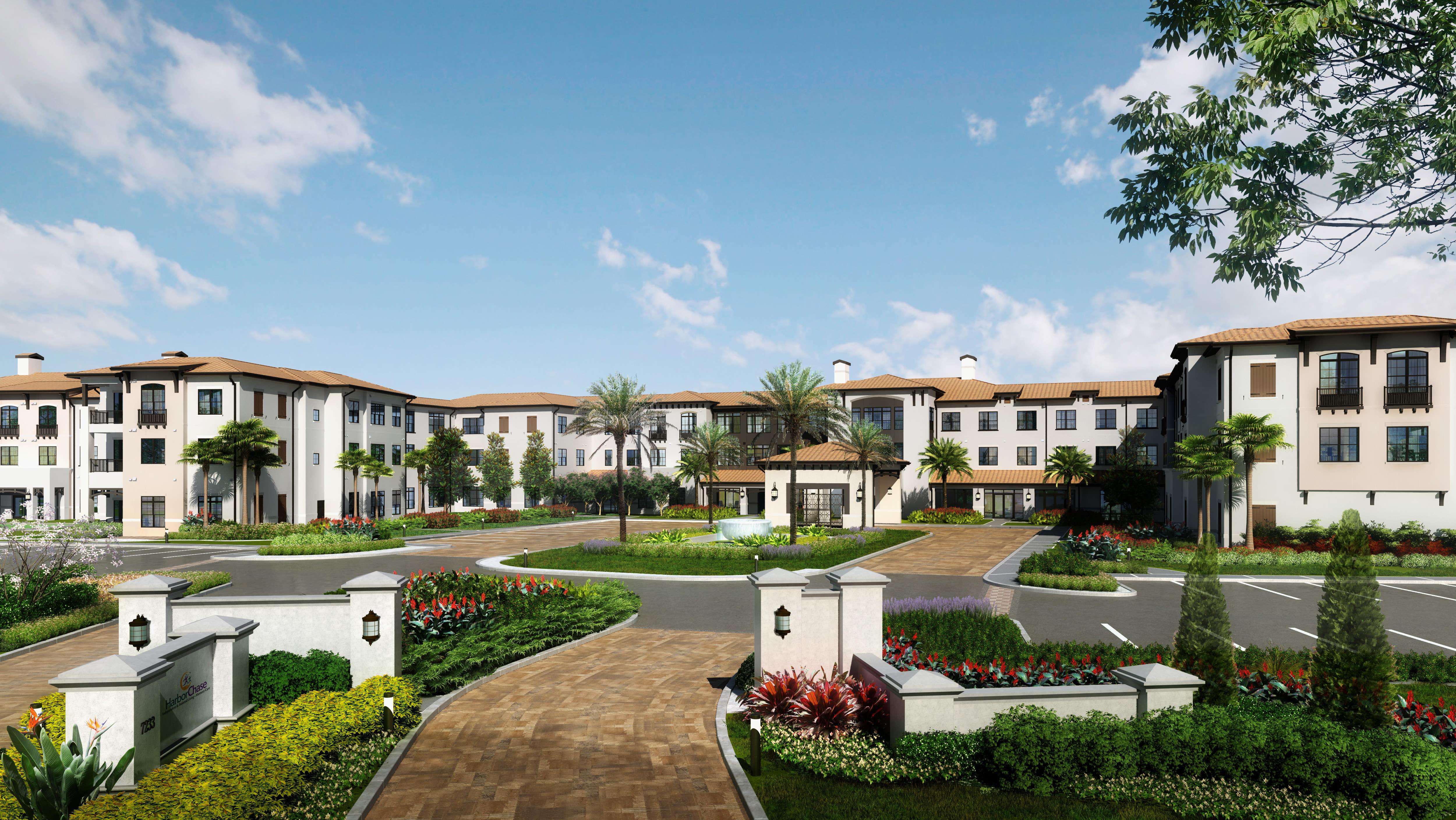 Exquisite senior living facility located in Orlando, Florida