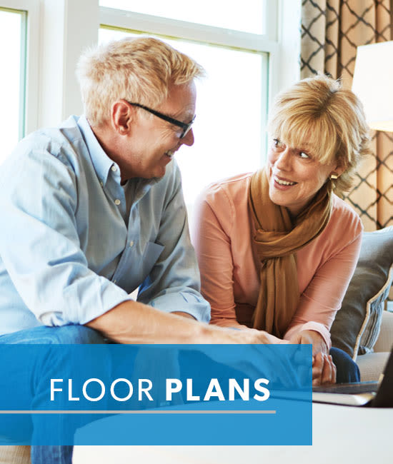 floor plans at The Horizons at Franklin Lakes Apartment Homes