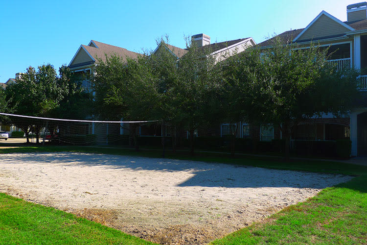 Lodge at West Oaks volleyball court