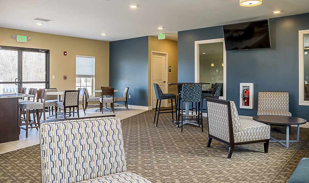 Merrillville apartments include a community center