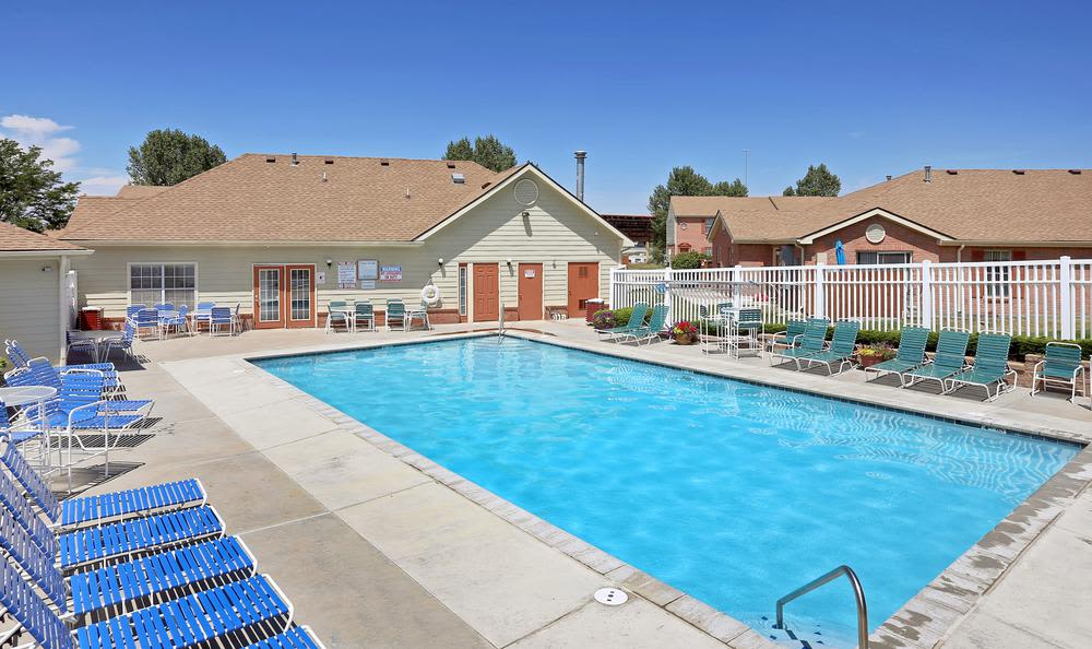 Our apartments in Northglenn, Colorado offer a swimming pool
