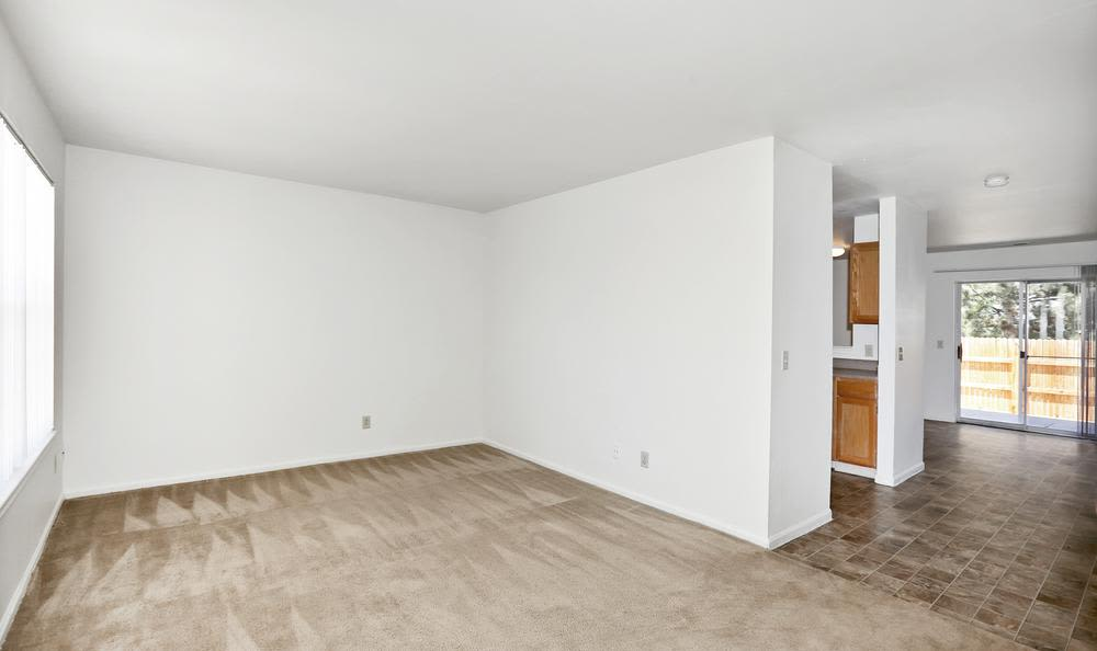 Greens of Northglenn Apartments offers a spacious bedroom in Northglenn, Colorado