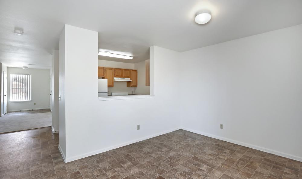 Beautiful living room at Greens of Northglenn Apartments in Northglenn, Colorado