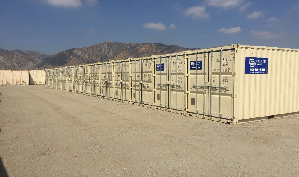 A variety of Self Storage containers available in Storage Etc... Sylmar