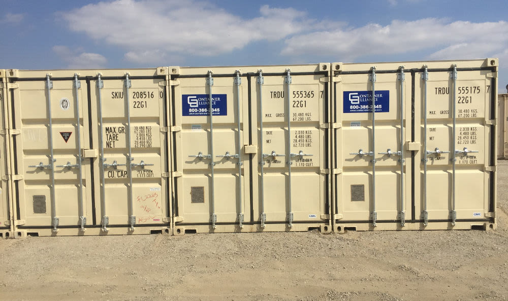 Secure Self Storage containers available at Storage Etc... Sylmar
