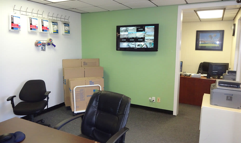 Self Storage & Parking Rental Office at Storage Etc... Sylmar