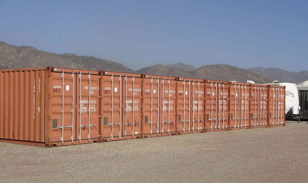 Self Storage Containers at Storage Etc... Sylmar