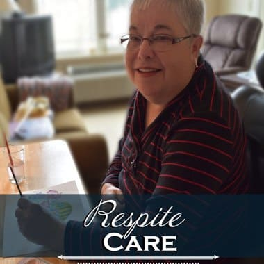 Respite care at Glenwood Place Senior Living.
