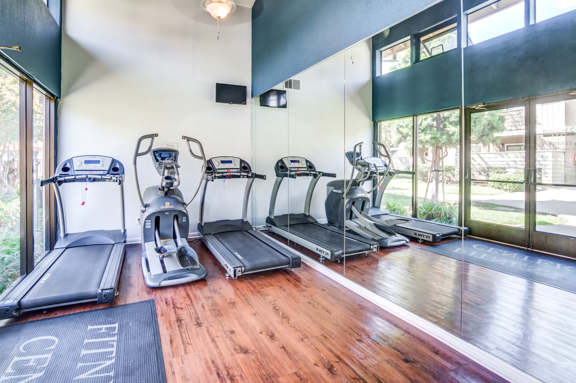 Fitness Center At Parkside Commons Apartments In San Leandro, CA