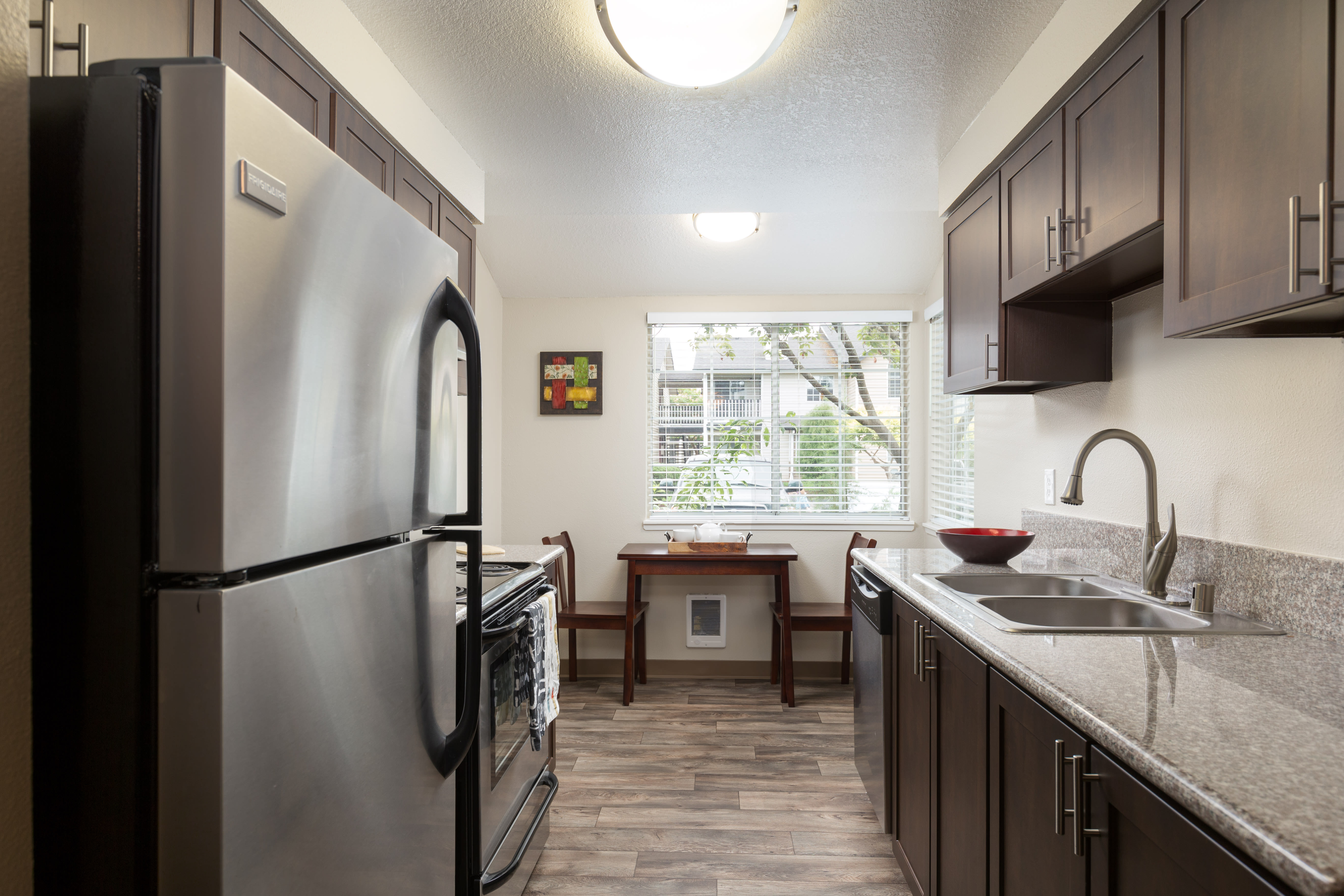 Kitchen at Walnut Grove Landing Apartments in Vancouver, WA