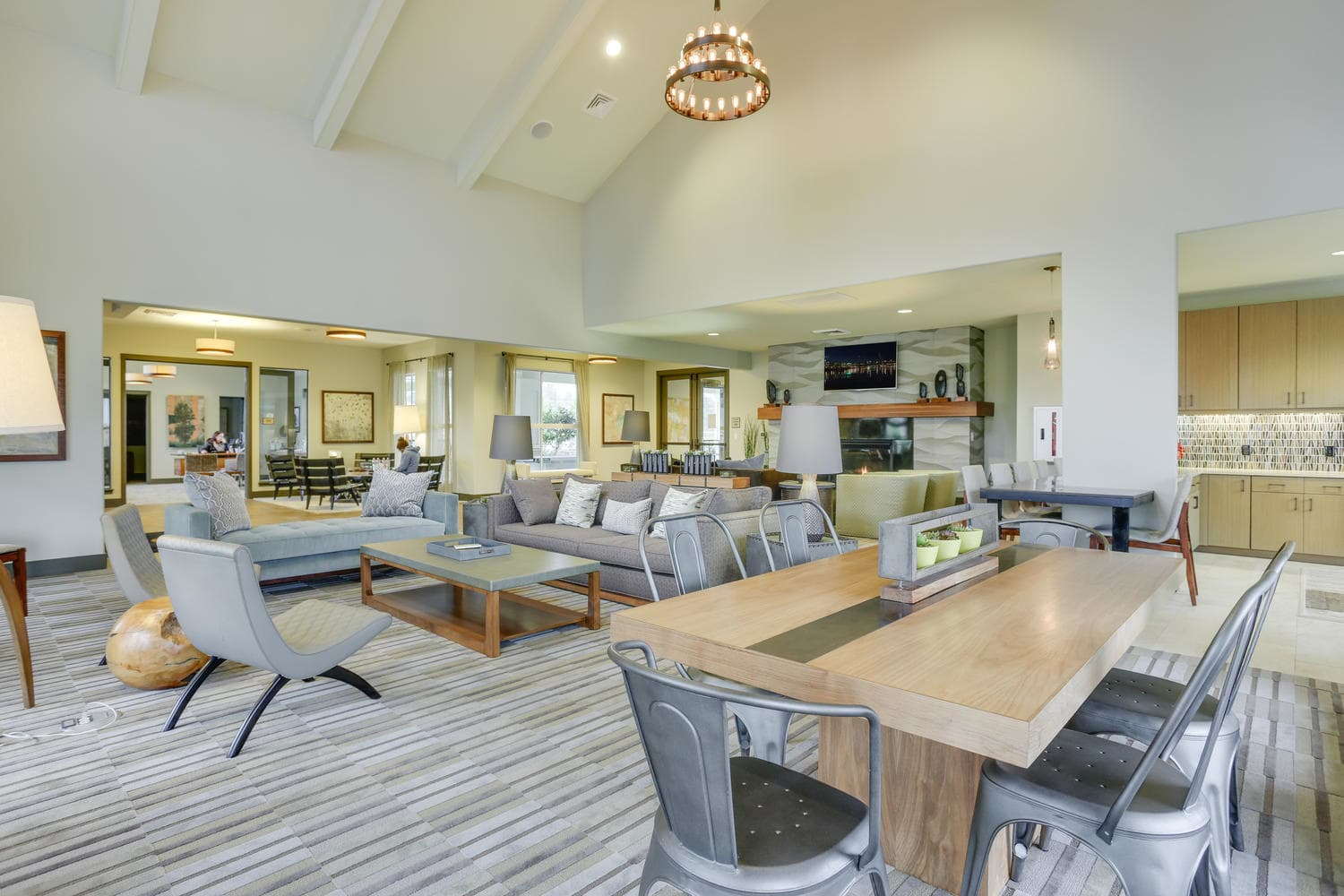 Common Area Resident Clubhouse Lounge
