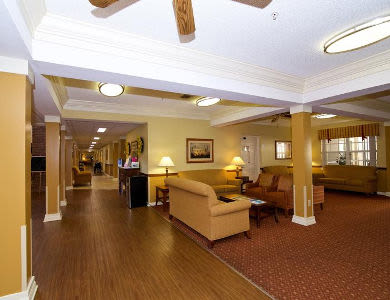 Lounge for our community at Sun City Senior Living