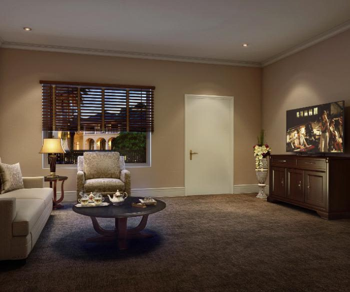 Pacifica Senior Living Oceanside offers a beautiful living room in Oceanside, California