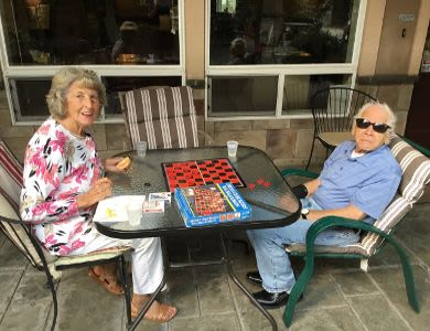 Confortable spaces at Courtyard at Coeur d'Alene senior living facility