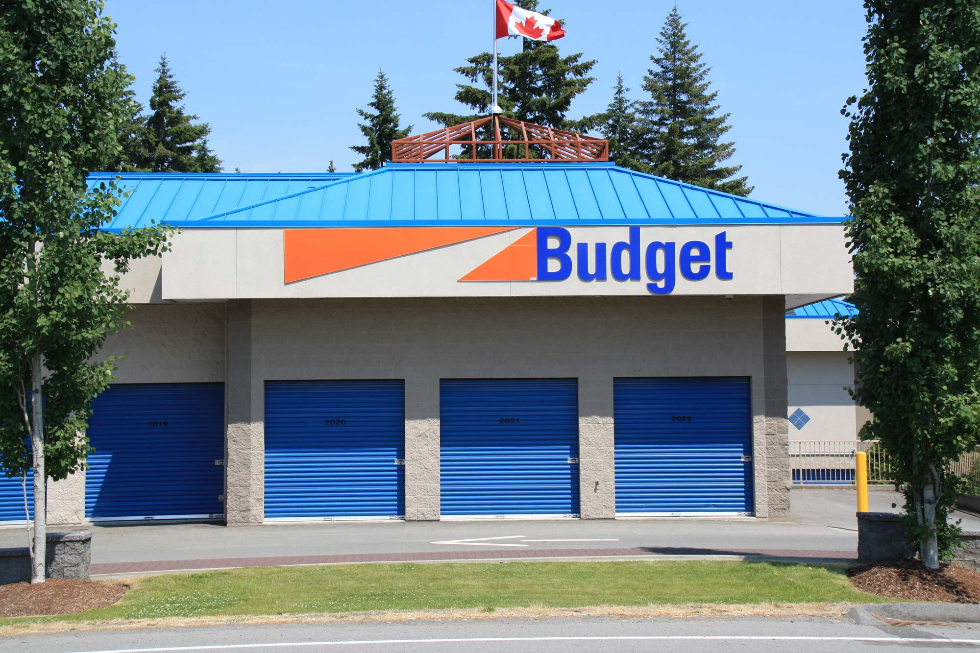 Features offered at Budget Self Storage in Nanaimo