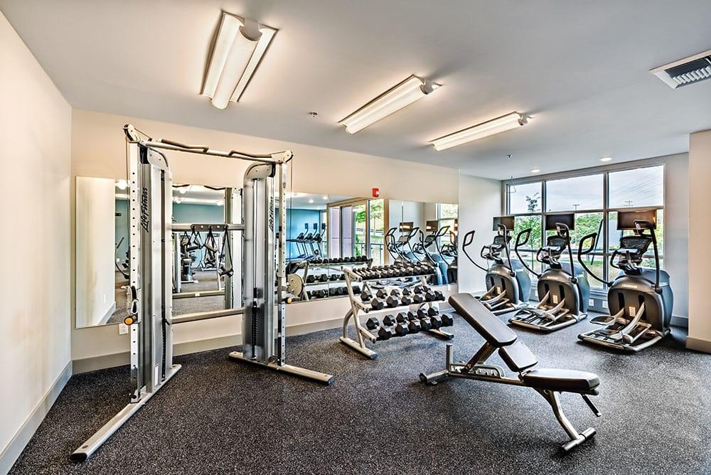 Fitness center at Cosmopolitan