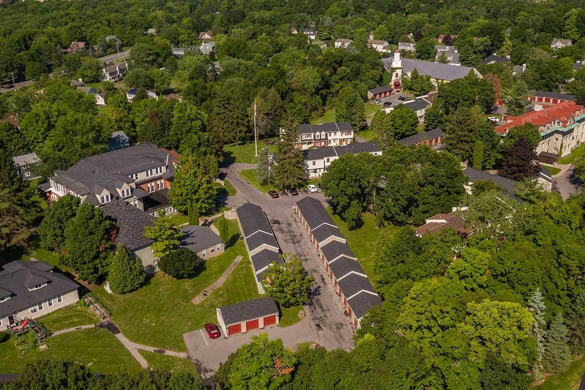 Aerial view of the community at Manlius Academy in Manlius, NY