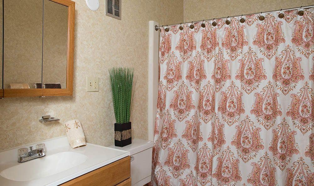 Bathroom at Park Guilderland Apartments in Guilderland Center, New York