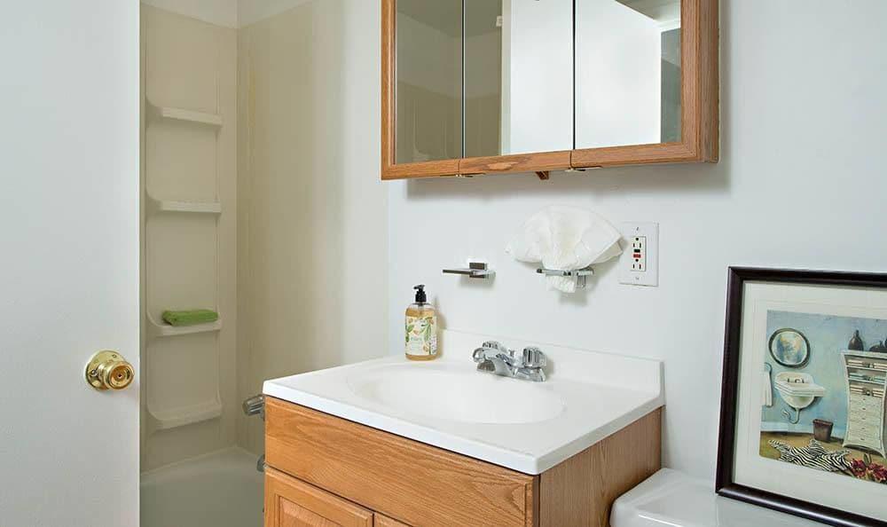 Lakeshore Villas bathroom sink in Port Ewen, NY