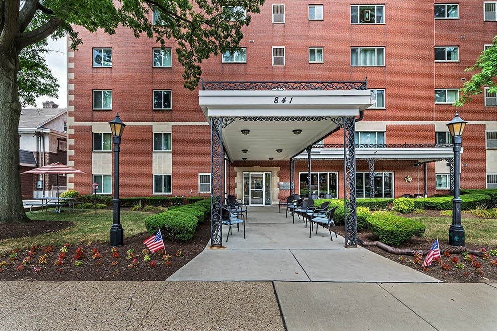 Avalon Arms Apartments leasing office in Avalon, Avalon Arms Apartments
