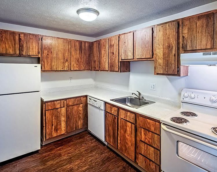 Westpointe Apartments to rent Kitchen View in Pittsburgh, PA