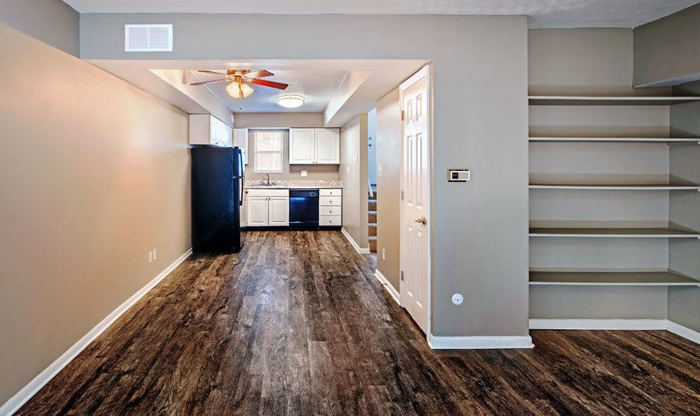 Nice hardwood floors in our Columbus, OH apartments