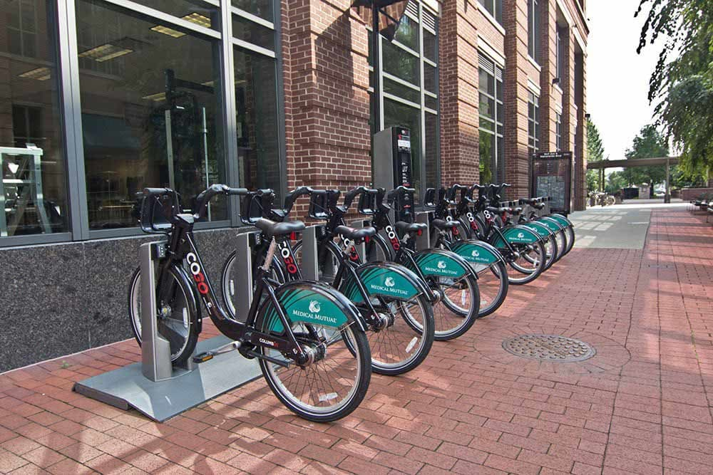 Bicycle parking at The Edge At Arlington