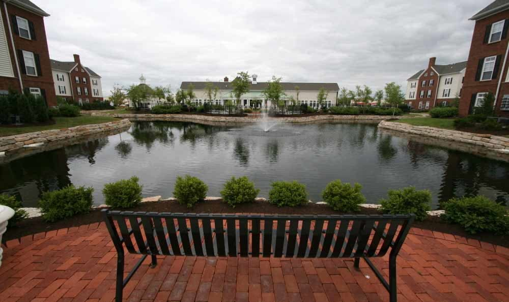 Pond at Preston Gardens in Perrysburg