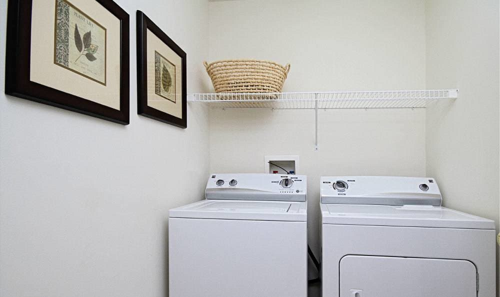 In-home Washer and Dryer at apartments in Red Lion PA