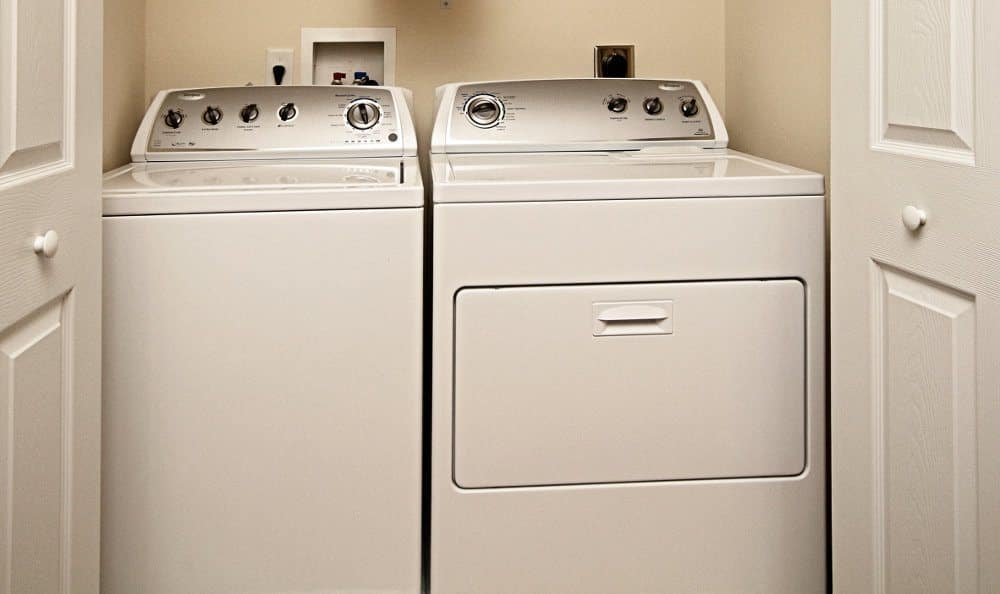 Laundry area at The Village of Laurel Ridge in Harrisburg