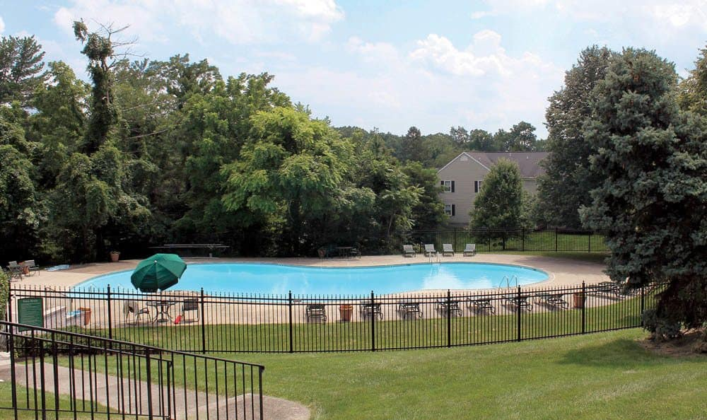 Swimming pool at The Village of Laurel Ridge in Harrisburg