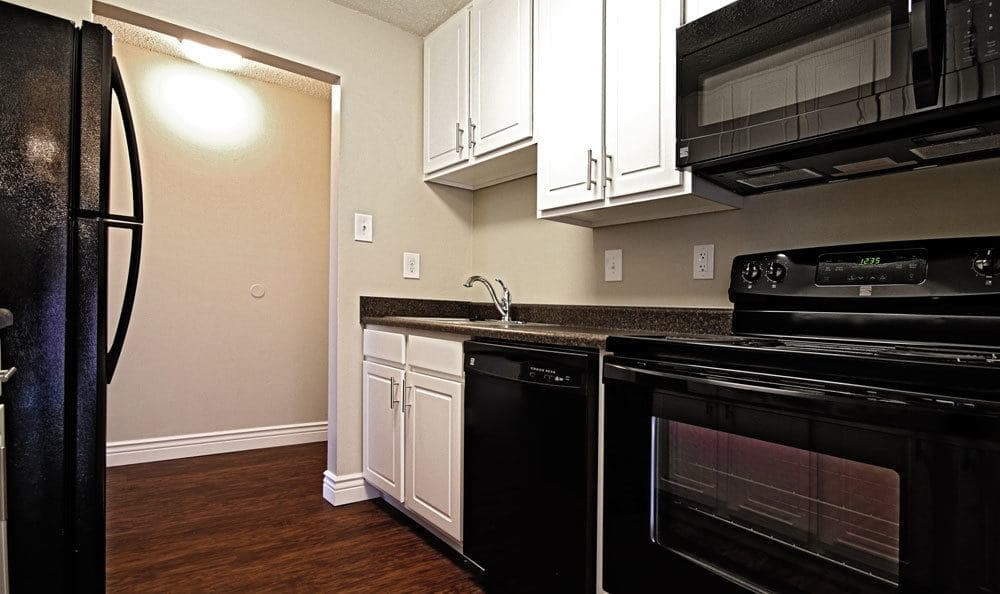 New appliances at apartments in Harrisburg, Pennsylvania