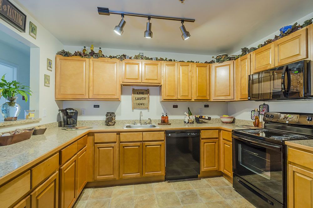 Spacious kitchen in our Dover, DE apartments