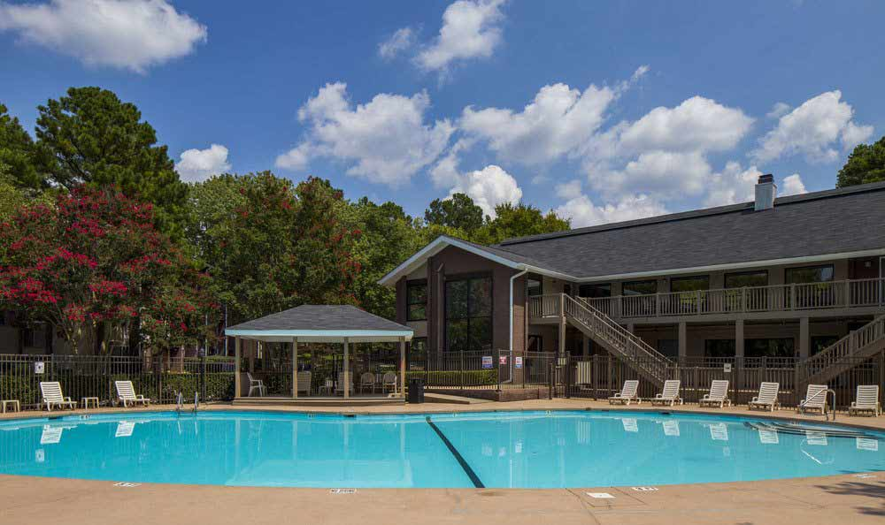 Enjoy The Trails of North Hills's swimming pool